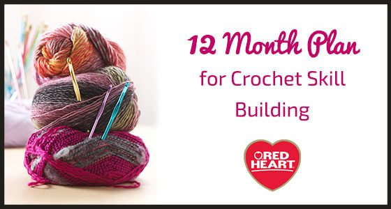 build your crochet skills