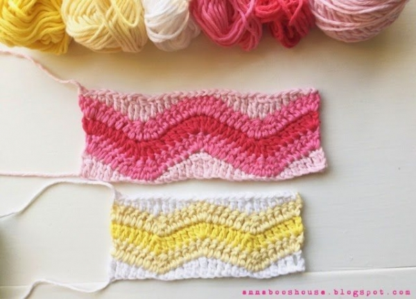 chevron crochet