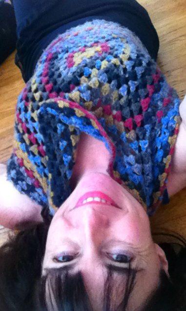 convertible crochet halter top