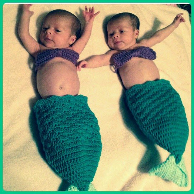 cozytoesizes_crochet crochet mermaid baby