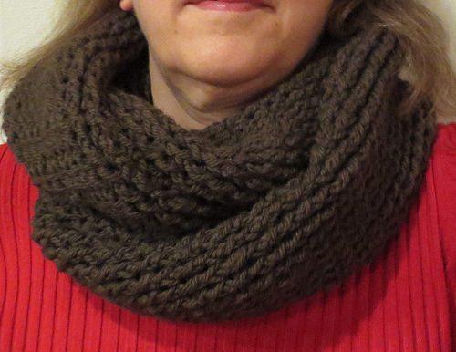Haak cowl sjaal