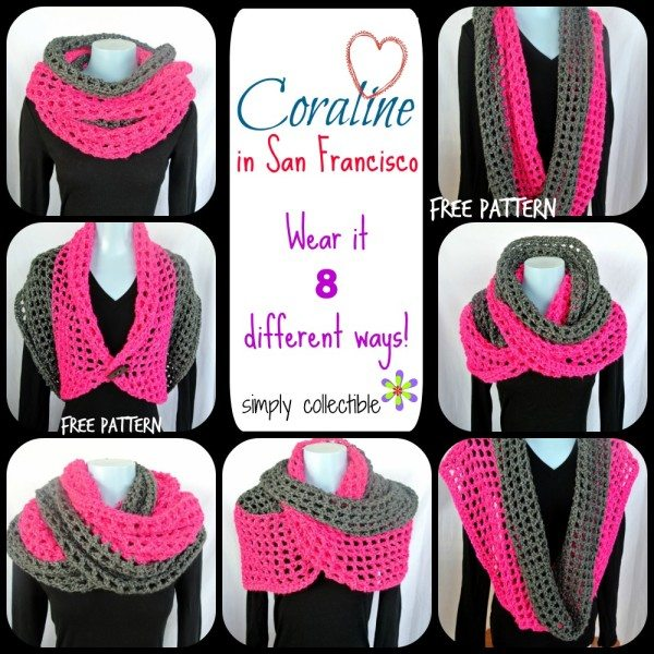 crochet cowl wrap free pattern