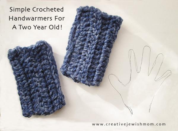 crochet handwarmers pattern