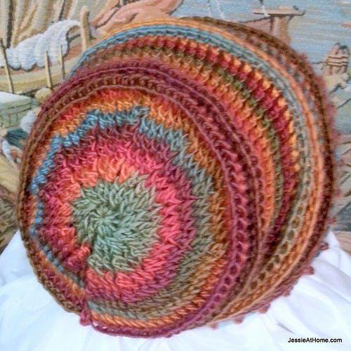 crochet hat free pattern 2