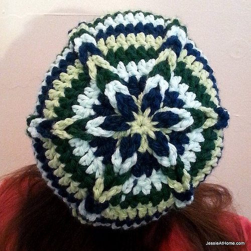 free crochet hat pattern using jacob stitch