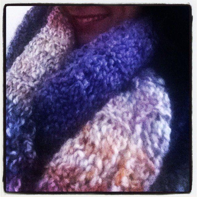 crochet instagram scarf