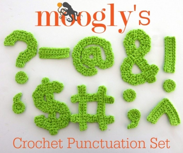 crochet punctuation patterns