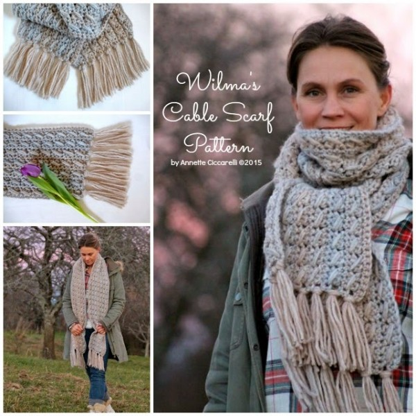 crochet scarf pattern