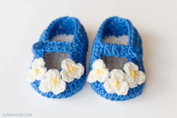 crochet shoes pattern