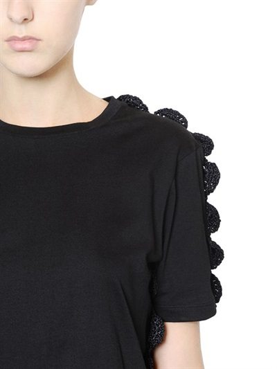 crochet simone rocha designer dress