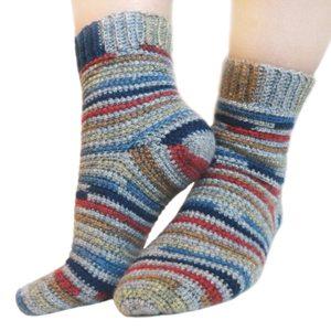 Haak sokken patroon