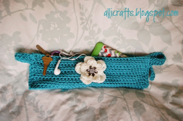 crochet stroller pouch patterns