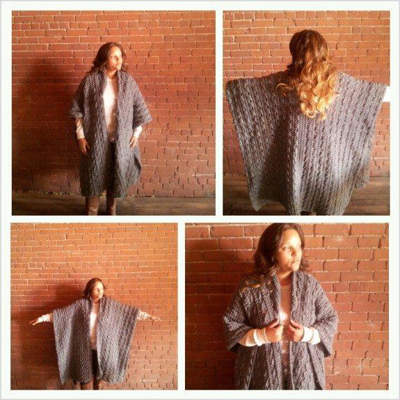 crochet sweater blanket