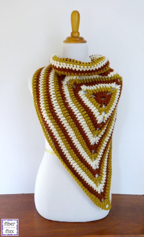 crochet wrap freepattern