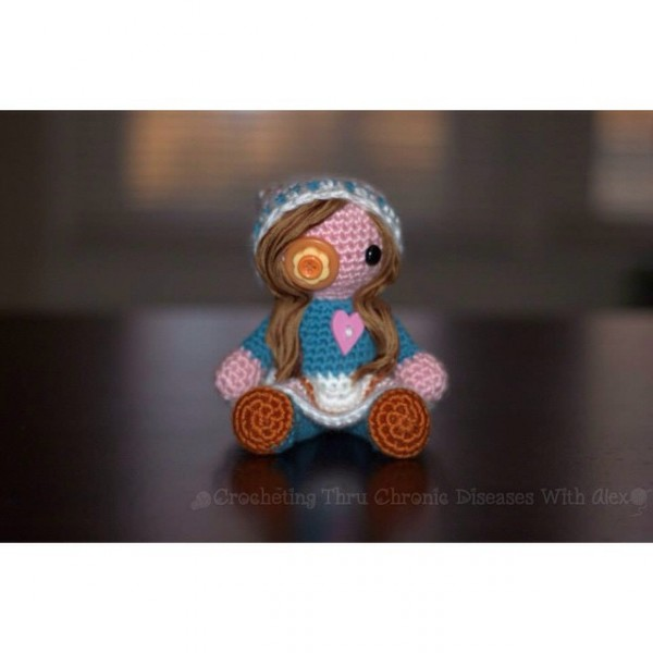crochetingthruchronicdiseases voodoo doll crochet