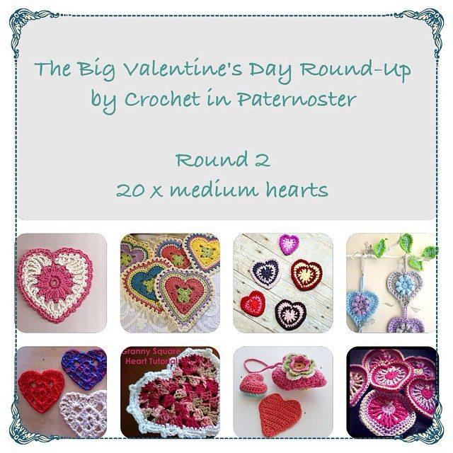crochetinpaternoster crochet hearts