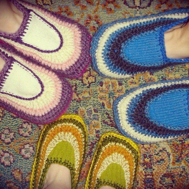 daraweyna crochet slippers