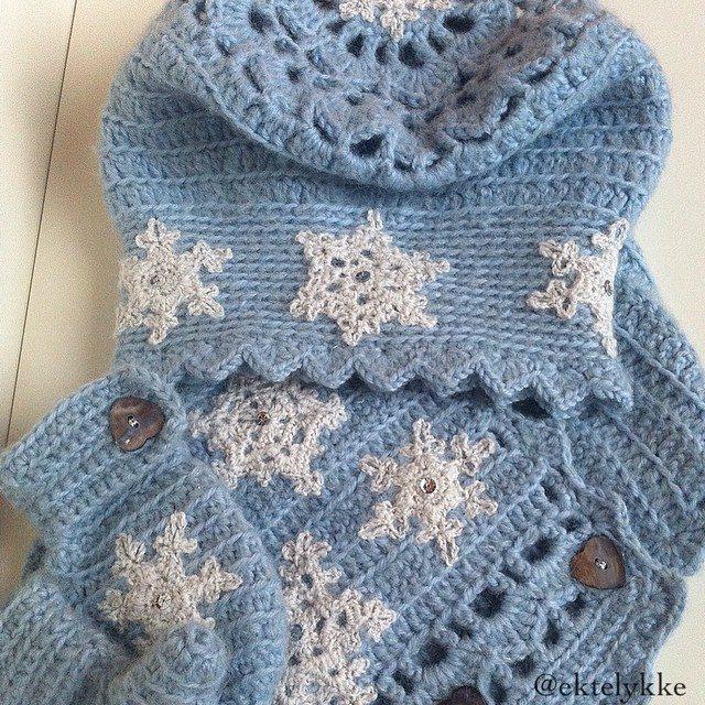 ektelykke crochet winter