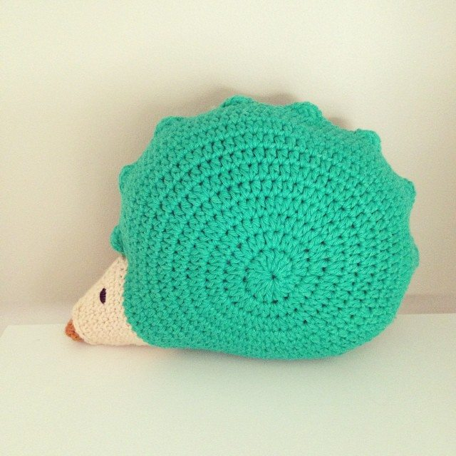 flamingpot crochet hedgehog