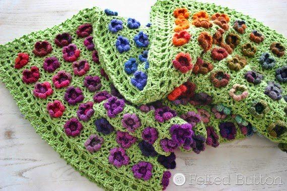 floral crochet blanket pattern