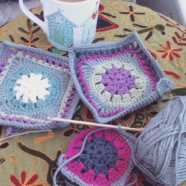 forestflowerdesigns crochet squares