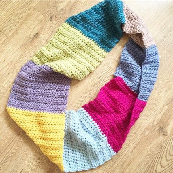 foreverautumn crochet cowl