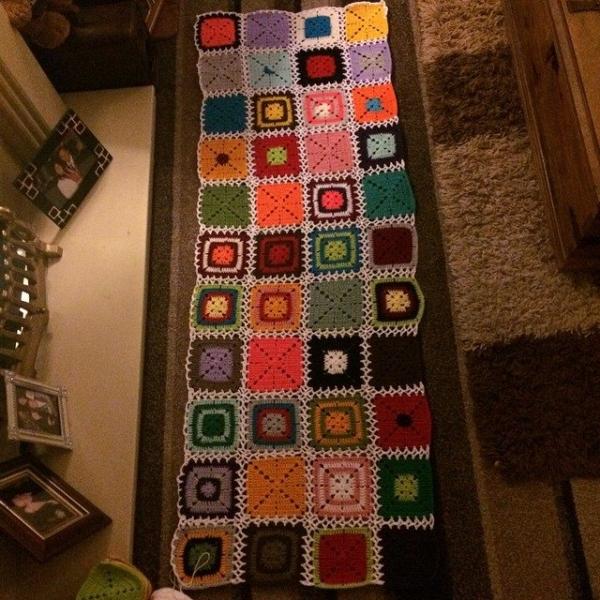 foxyloxy69 crochet blanket