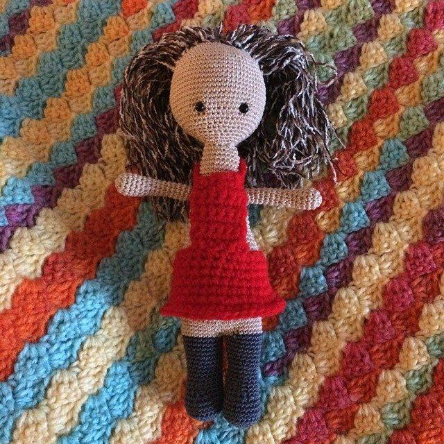 foxyloxy69 crochet doll
