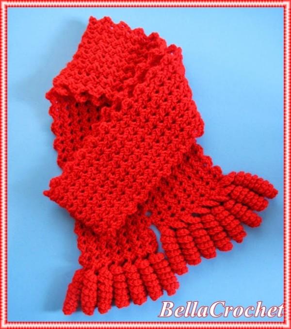 free scarf pattern crochet