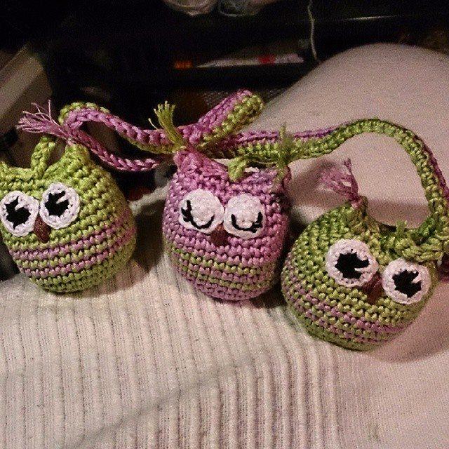 garnkorgen.blogg.se crochet owls