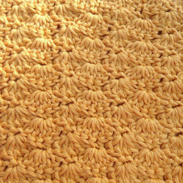 gooseberryfool crochet shell stitch