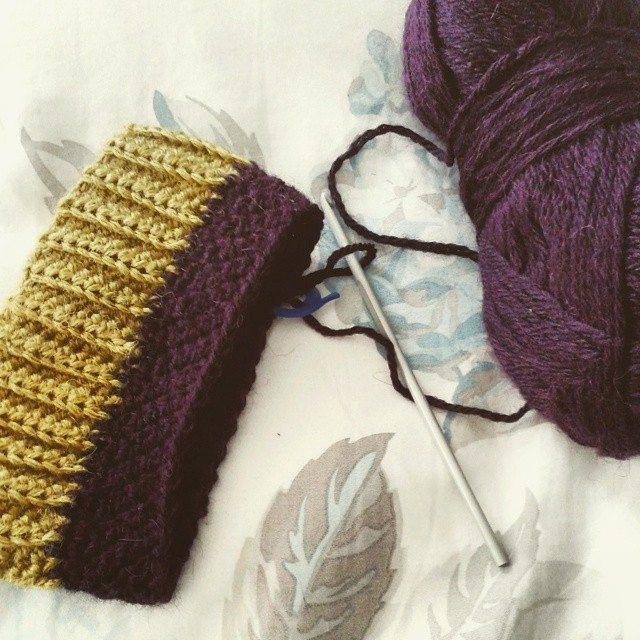 hanrosieg crochet sock wip