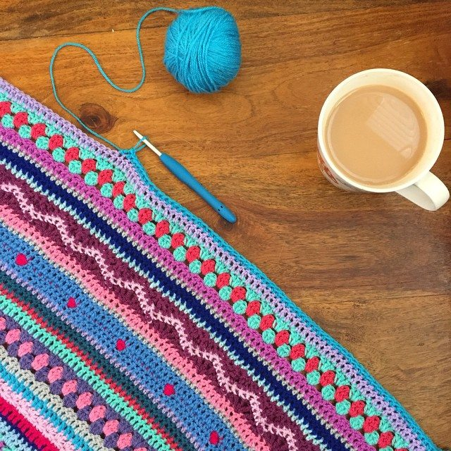 holly_pips crochet colorful blanket