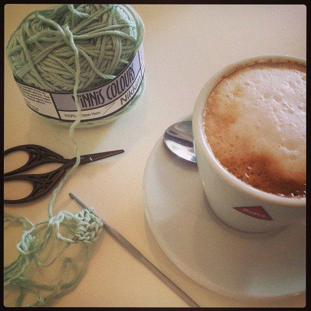 hookybren crochet blanket wip