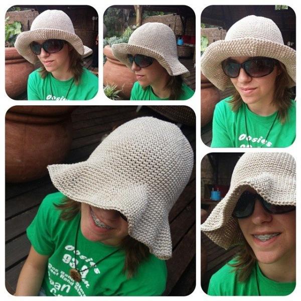 hookybren crochet hat