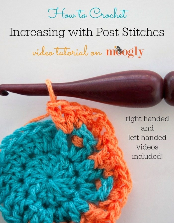 how to increase post stitches