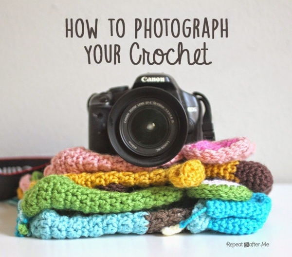how to photograph crochet