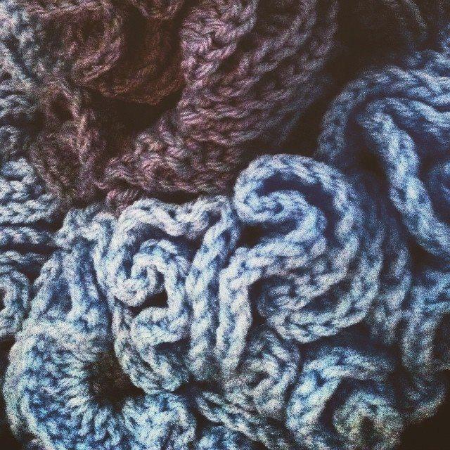 hyperbolic crochet art