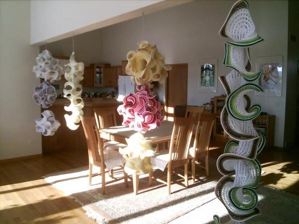 hyperbolic crochet home decor