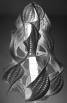 hyperbolic crochet lamps
