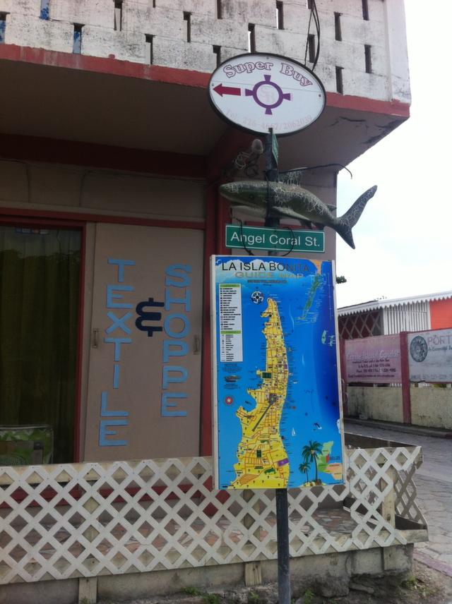 Belize textile shop