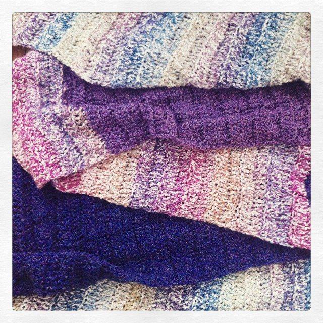 instagram crochet big scarf