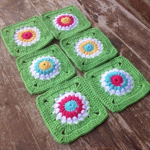 joycelovescrochet crochet squares