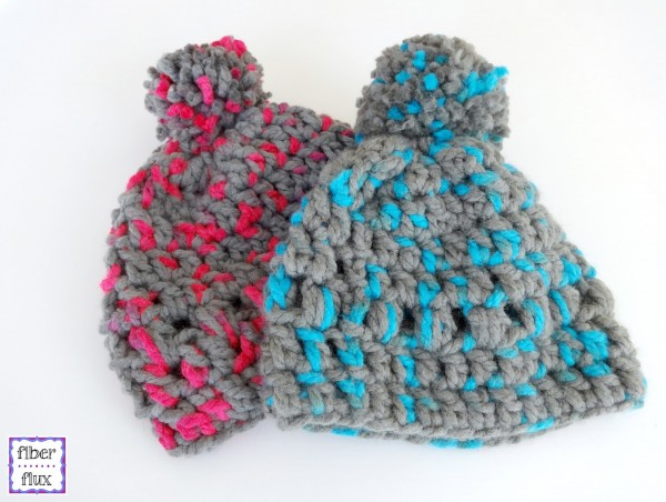 kids crochet hat pattern