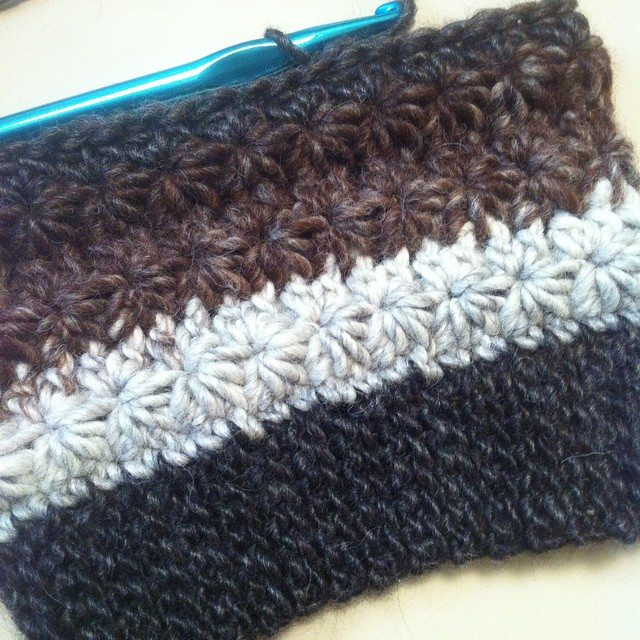 kmdcrochet crochet hat star stitch