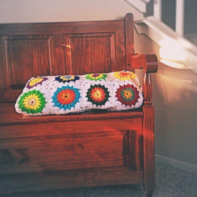 kymmber crochet squares blanket