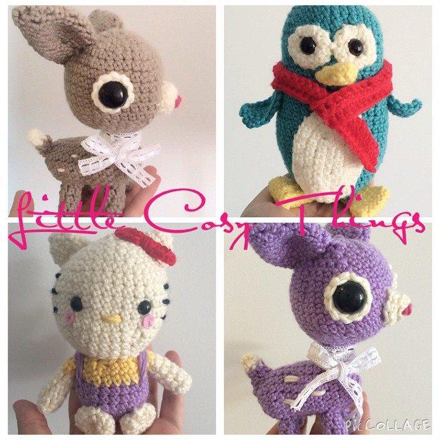 littlecosythings crochet amigurumi animals