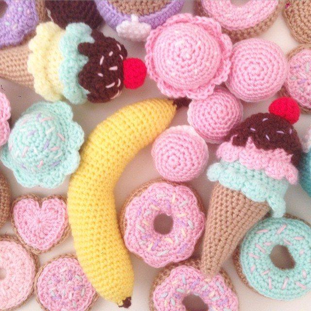 littlefoxcrochet crochet banana