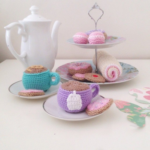 littlefoxcrochet crochet food