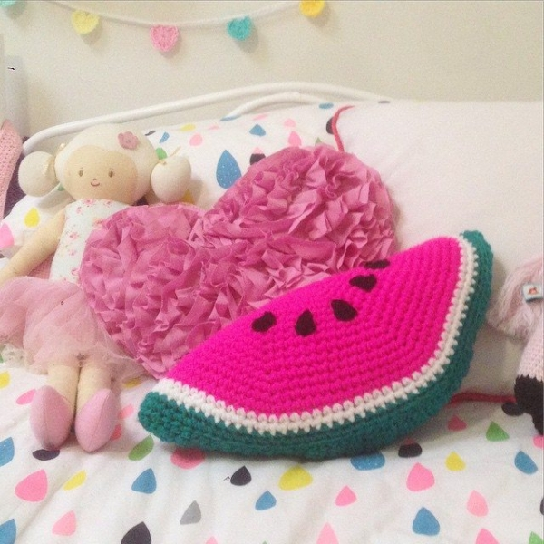 littlefoxcrochet crochet watermelon